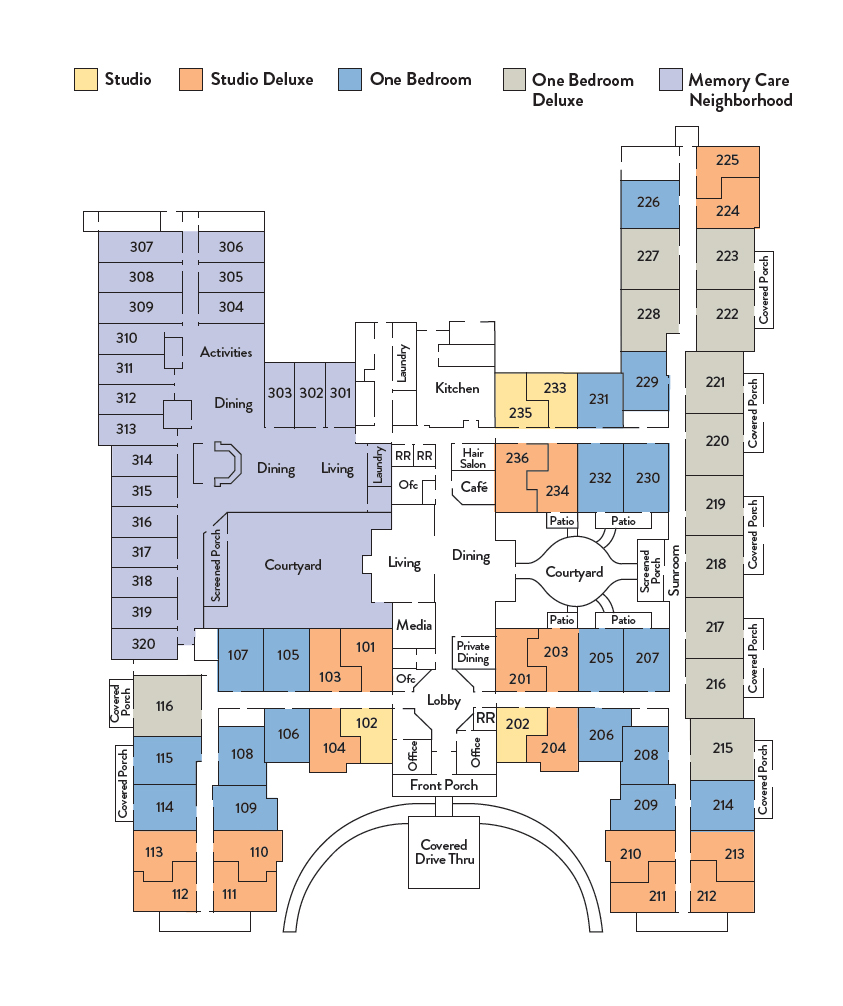 Community Floor Plan Overview