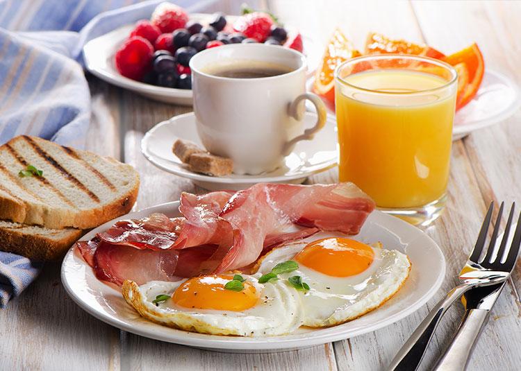 Breakfast at Benton House