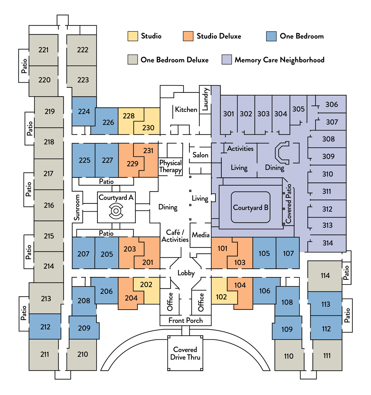 Community Floor Plan